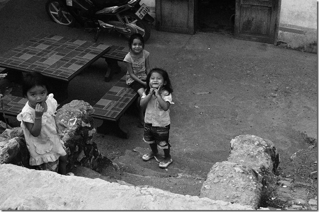 childrenposing